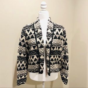 Beautiful mint condition tribal sweater